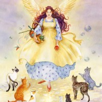Guardian Angel of Cats