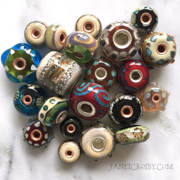Metal Core Beads - Janet Crosby