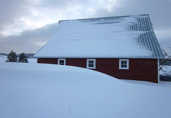 Blizzard Barn by Janet Crosby