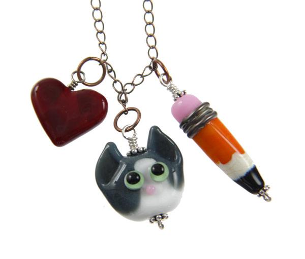 Pippa The Pencil Thief Necklace