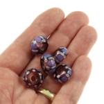 Purple Mosaic BHB 5 by Janet Crosby
