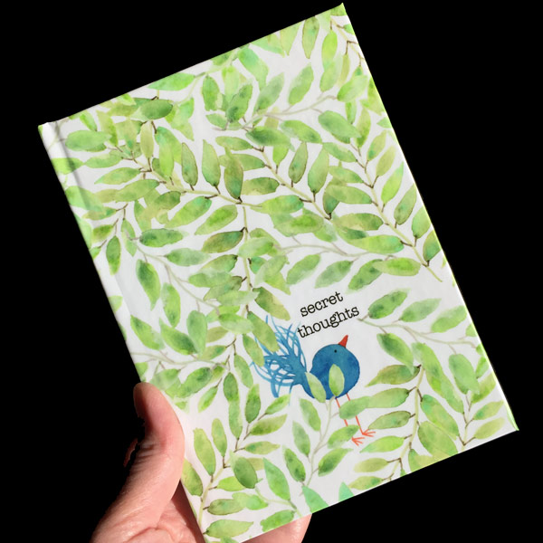 Secret Thoughts Journal by Janet Crosby