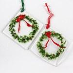 Wreath Ornament by Janet Crosby