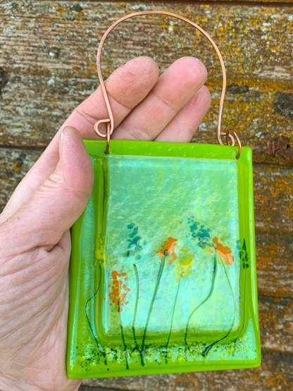 Pocket Vase - Wildflowers by Janet Crosby