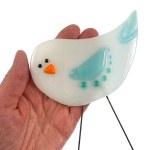 Garden Bird - Winter Jewel by Janet Crosby