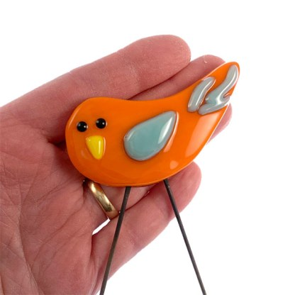 Garden Bird Mini Orangebird by Janet Crosby