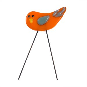 Garden Bird Mini Orangebird by Janet Crosby