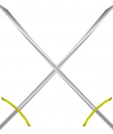 2 swords crossed