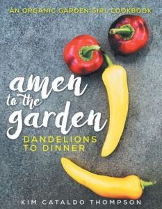 the jacket cover to Amen to The Garden