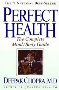 Deepak Chopra's book cover for Perfect Health