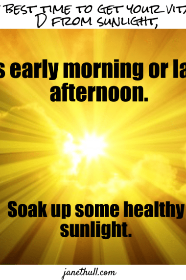 meme with the sun and when to get the most sunshine