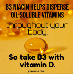 meme about vitamins D and B3