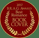 2017 B.R.A.G. Award Best Romance Book Cover