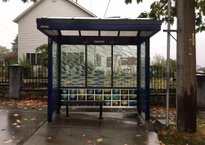 The Pinhole Project on a King County Metro Bus Shelter!