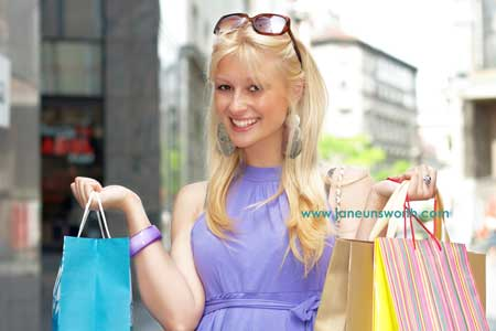 shopping addicts can't resist a bargain