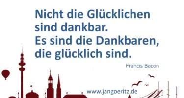 Dankbarkeit und Besinnung - Jan Göritz - Heilpraktiker für Psychotherapie und Psychologischer Berater in Hamburg