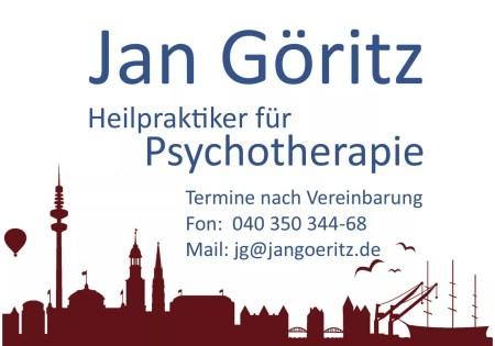 Praxisschild der Praxis für Psychotherapie und Psychologische Beratung Hamburg