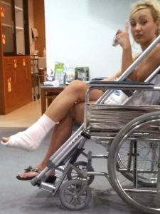 Barbie im Rollstuhl