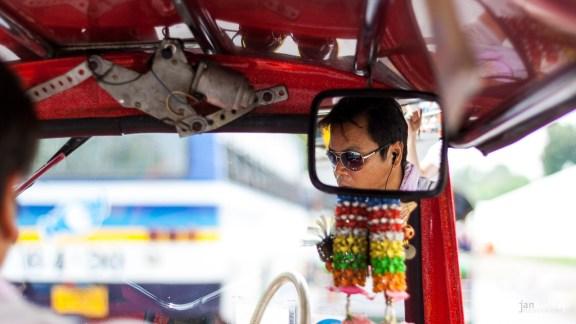 Thai TukTuk-Fahrer