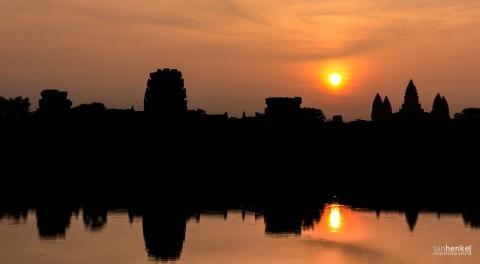 Angkor kurz nach Sonnenaufgang