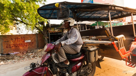 Verkehrsteilnehmer in Phnom Penh
