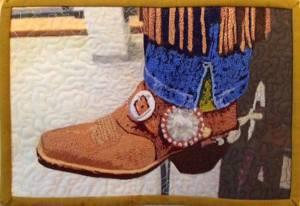 Jan Holzbauer Cowboy Boot Quilt