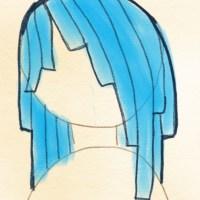 Haarspitzen zeichnen - (1/2)