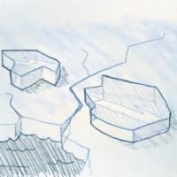 Eisschollen zeichnen - Kreativkurs