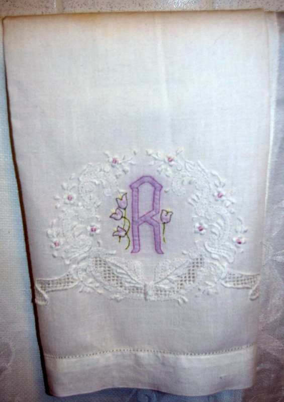 Hand Towels Blank Embroidery