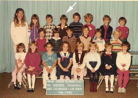 Josh's kindergarten class
