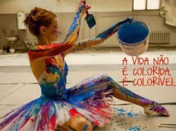 A vida não é colorida… Olhos Psicanalíticos