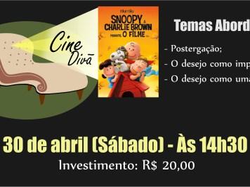 Cine Divã refletirá sobre a postergação a partir da animação Snoopy