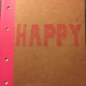 Happy Journal Cover