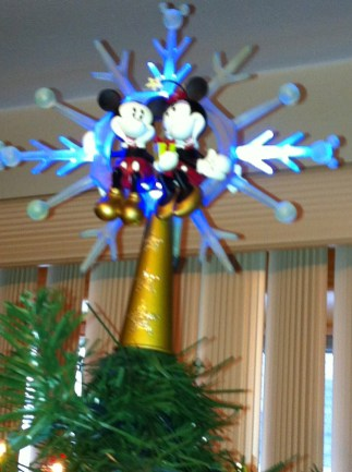Sorry for the Quality, but our Tree Topper..
