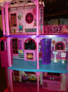 Completed Barbie Dreamhouse