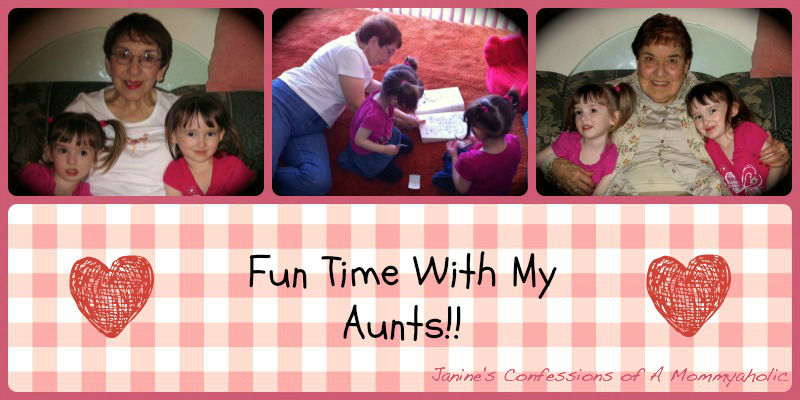 Fun Time with the Aunts!!