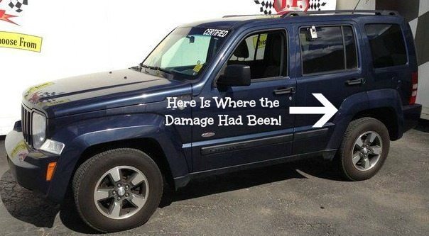 Seriously The Damage Was Minor, But Still It Needed to Be Fixed!