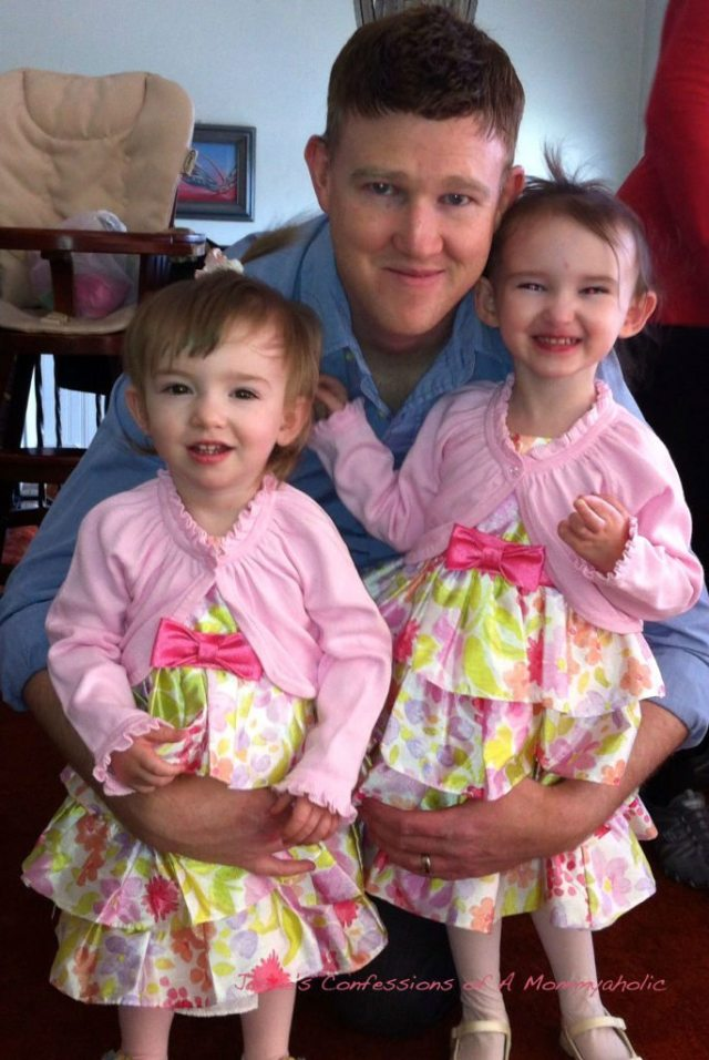 Kevin and the Girls--Easter 2012