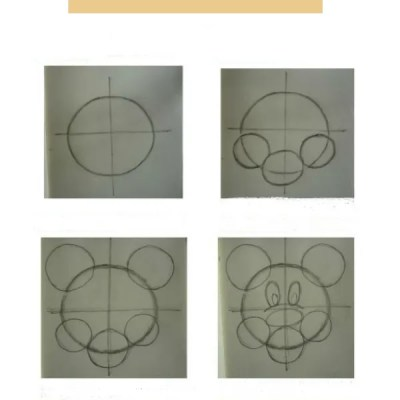 How To Draw Mickey Mouse in 8 Simple Steps