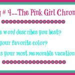 The Pink Girl Vlog Chronicles #4 & Dawn's Disaster Blog-O-Versary Giveaway
