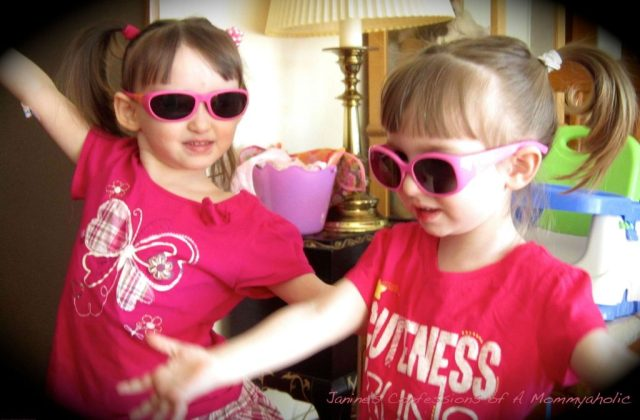 These Two Crazy, Little Ladies Love Their Bandaids!!