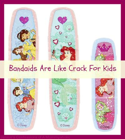 Bandaids Are Like Crack For Kids