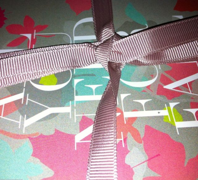 Pretty GLOSSYBOX Packaging