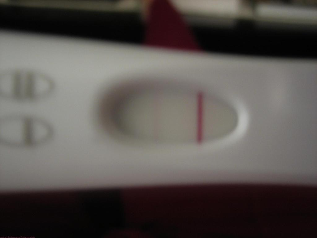 Still have a picture of the Positive Pregnancy Test