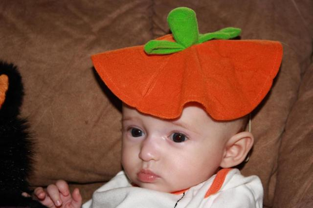 Happy Halloween~Emma 3 Months Old