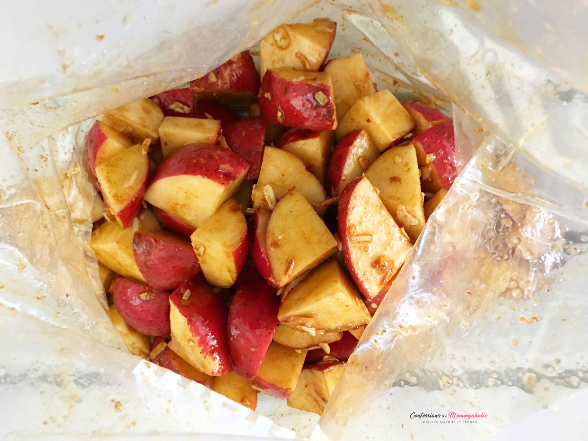 Oven Roasted Potatoes in Ziplock Bag 3