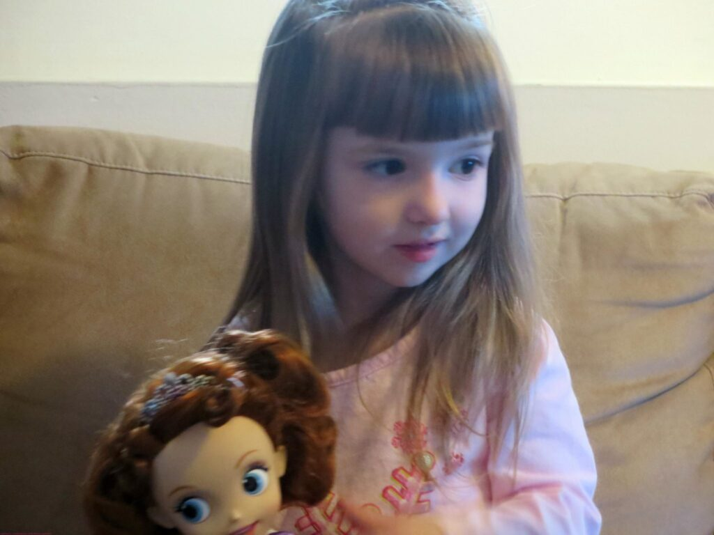 Seeing this kind of excitement from a gift like Princess Sofia Doll!