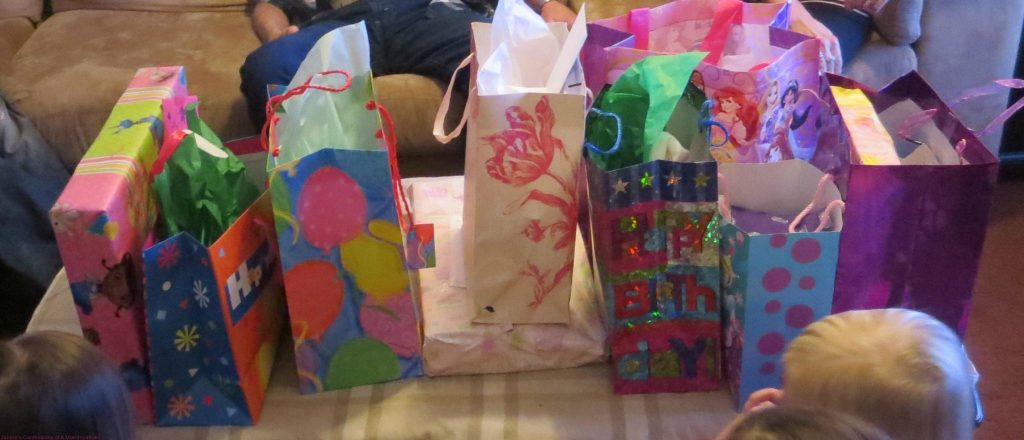 All the presents!