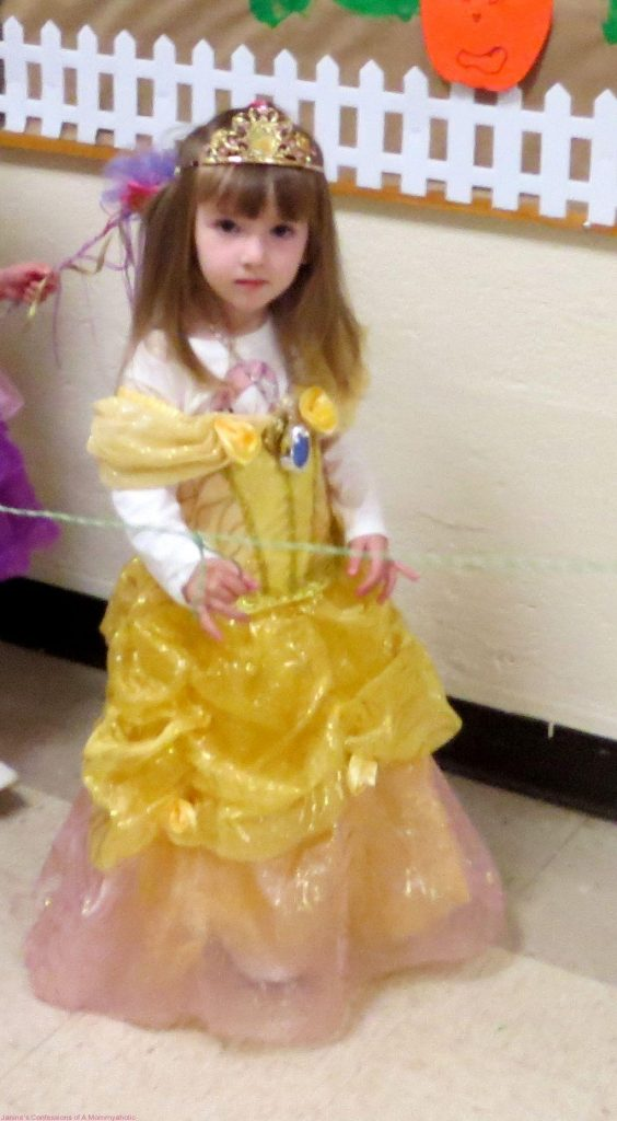 Lily- Belle from the Halloween Parade at School