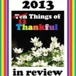 The Princesses 10 Things of Thankful for 2013
